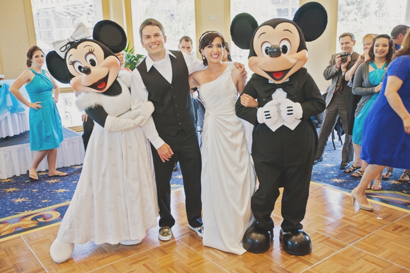 Springtime Disneyland Wedding // White Rabbit Photo Boutique