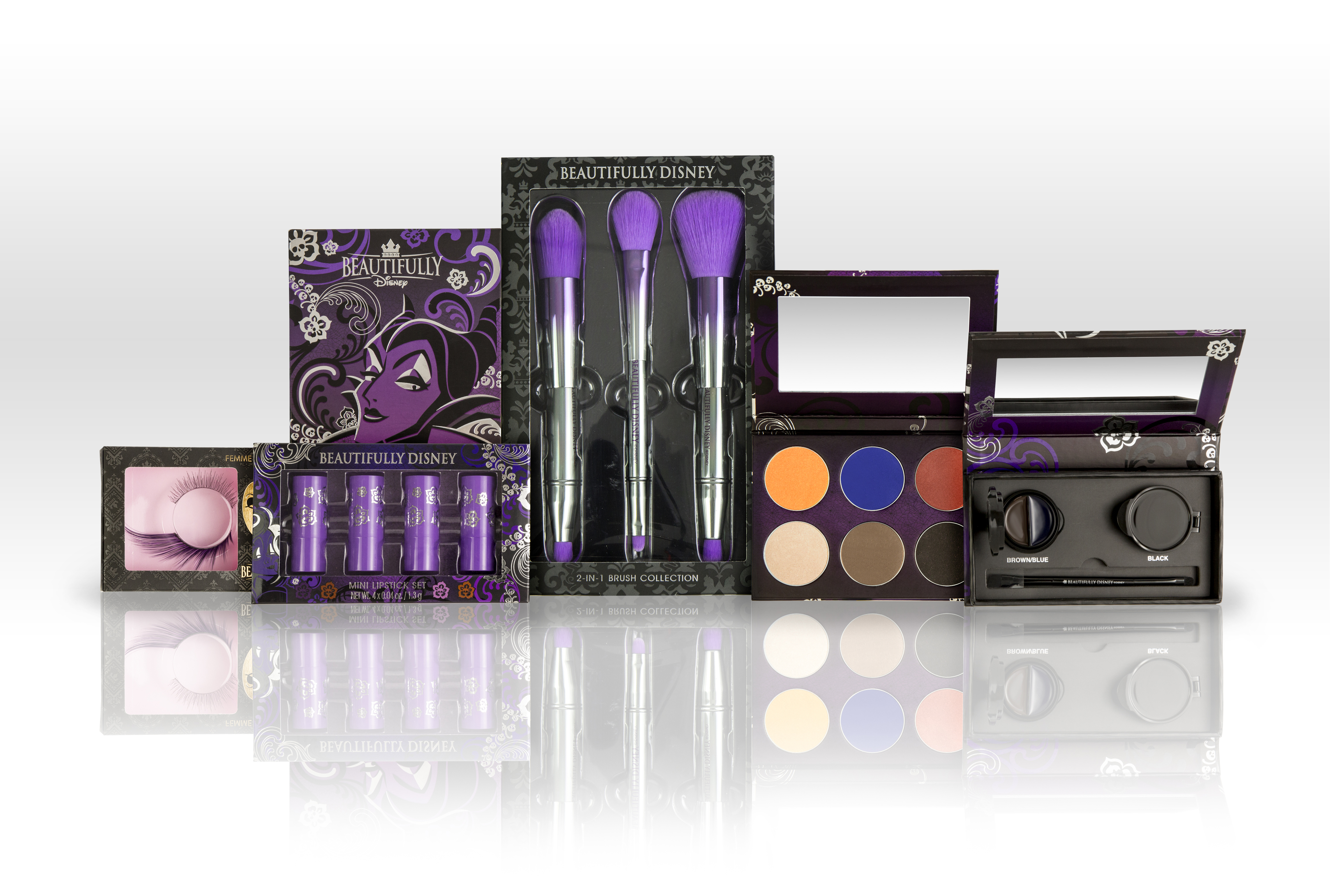 Beautifully Disney Tangled Web Makeup Collection