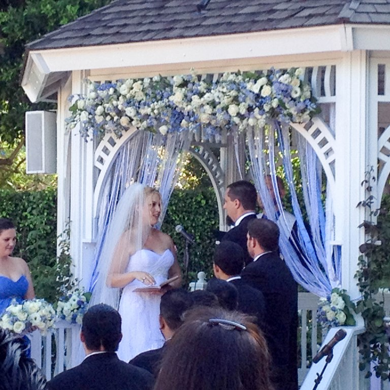 "A True ""Guest"" Post - Mandy and Russell's Disneyland Wedding"