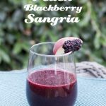 Peach Blackberry Sangria Recipe