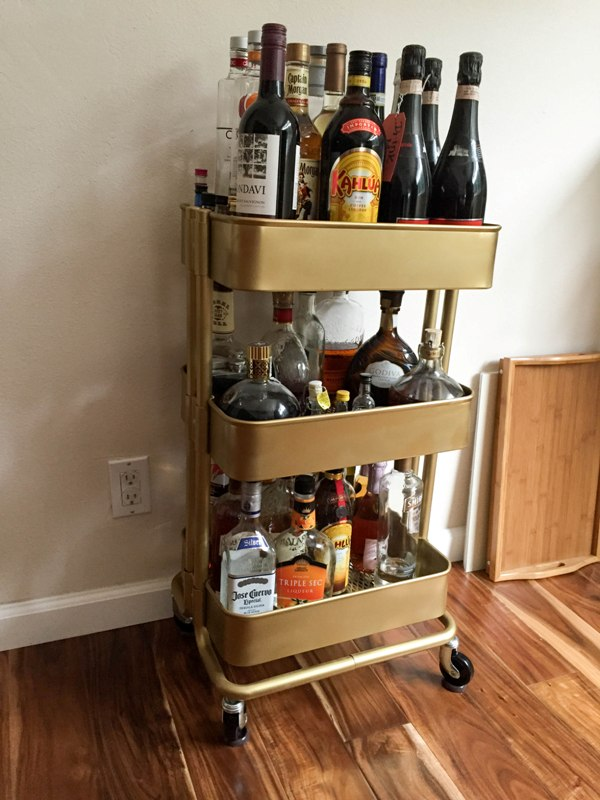 Bar Cart Ikea Hack This Fairy Tale Life
