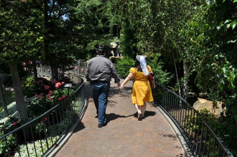 Courtney and Allen's Snow White's Wishing Well Marriage Proposal