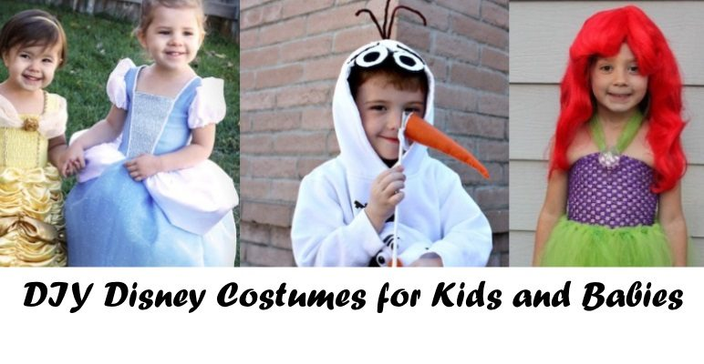 Cute Homemade Disney Costumes for Kids and Babies