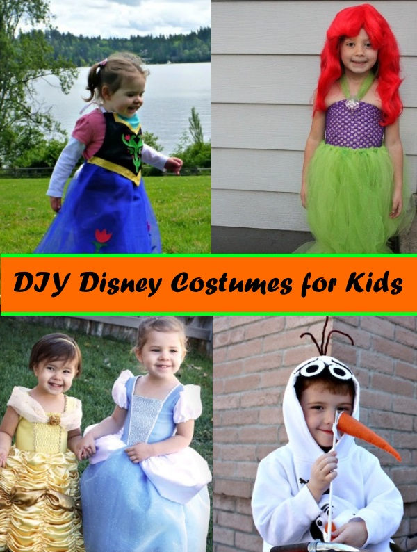 Cute Homemade Disney Costumes for Kids and Babies  sc 1 st  This Fairy Tale Life & Cute Homemade Disney Costumes for Kids and Babies - This Fairy Tale Life