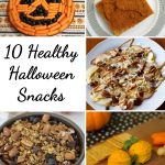 Healthy Halloween Snacks Round Up
