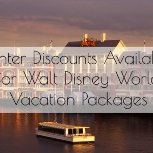 Winter Discounts Available for Walt Disney World® Vacation Packages!