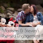 Madison and Steven's Disney Themed Engagement Photos