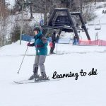 Mindy Versus the Snow: My First Ski Lesson