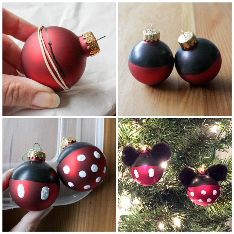 Diy mickey and minnie ornaments this fairy tale life diy mickey and minnie ornaments solutioingenieria Gallery
