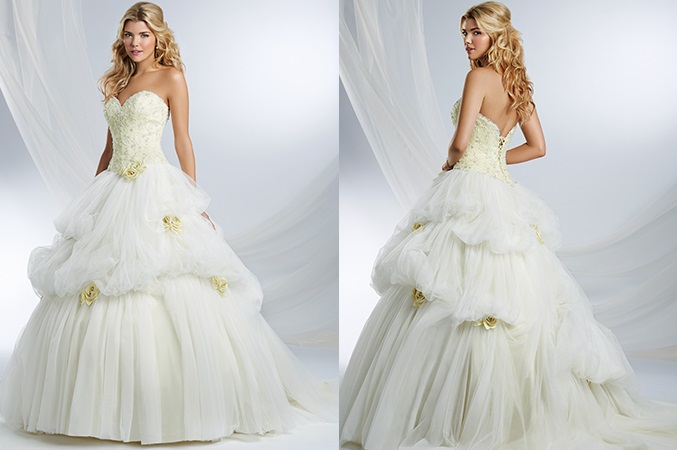 The 2015 Alfred Angelo Disney Fairy Tale Wedding Gowns - Belle