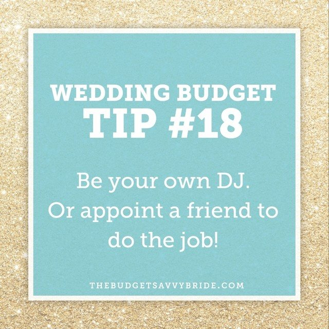 wedding budget tips should know