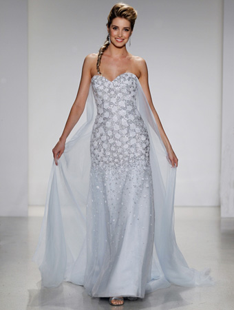 The 2015 Alfred Angelo Disney Fairy Tale Wedding Gowns - Elsa