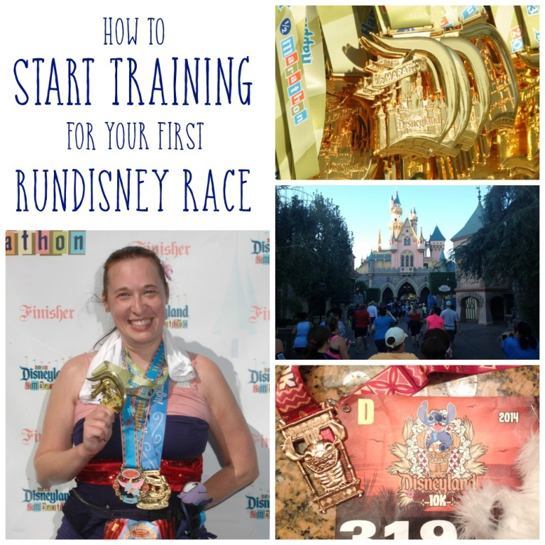 How to Start Training for a RunDisney Race When You Have Never Run a Day in Your Life!