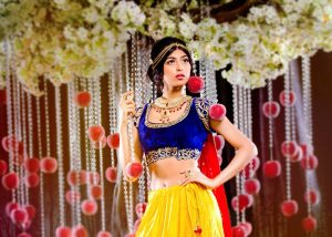 Disney Princesses Reimagined as Indian Brides