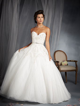 The 2015 Alfred Angelo Disney Fairy Tale Wedding Gowns - Tiana