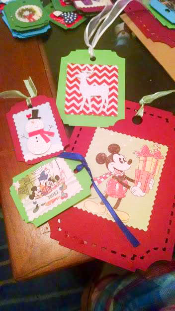 Upcycle Your Christmas Cards into Gift Tags