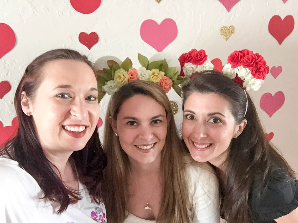 #DisneySide @Home Celebration - Galentine's Day Party