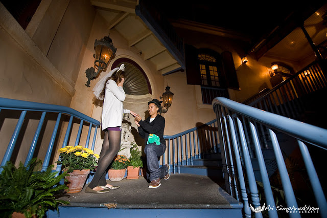 Happy National Proposal Day: Disney Style! Photo credit: Ari Simphoukham