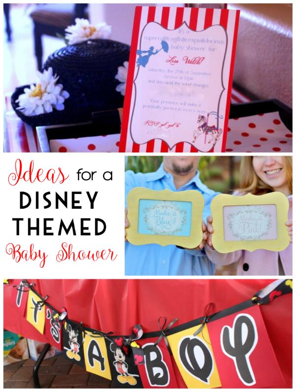 Marvelous Ideas For A Disney Baby Shower