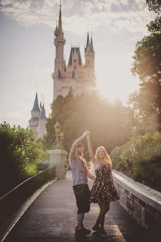 lee and becca39s magic kingdom honeymoon session this With walt disney world honeymoon