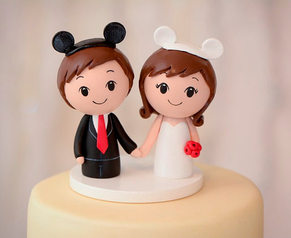 etsy disney wedding cake toppers 27 magical disney wedding cake toppers this tale 14045