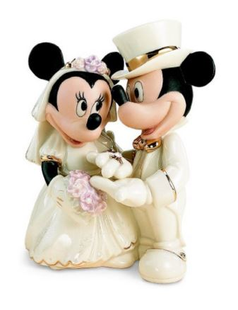 minnie and mickey wedding cake topper 27 magical disney wedding cake toppers this tale 5936