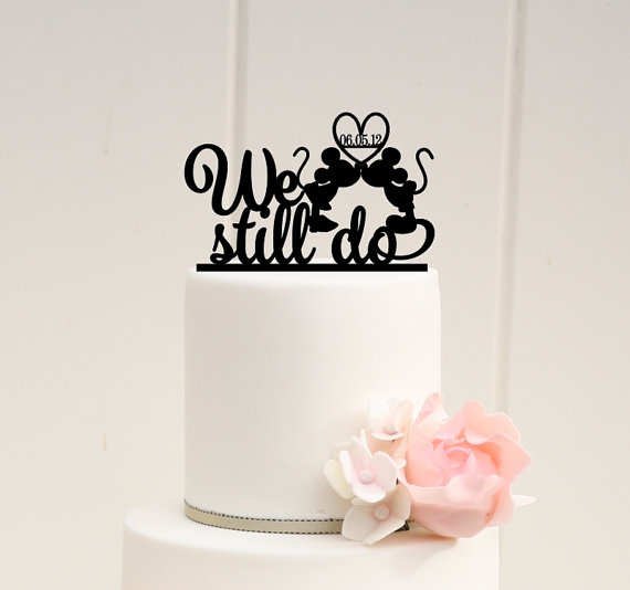 Ariel And Eric Wedding Cake Topper