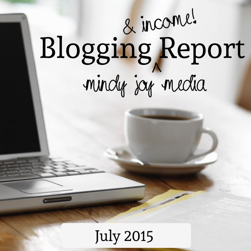 Blogging Report July 2015