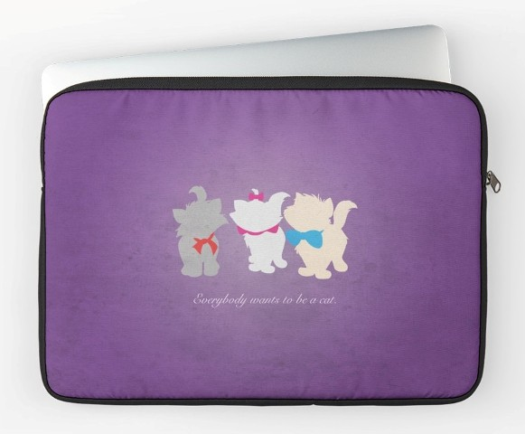 Aristocats Laptop Sleeve
