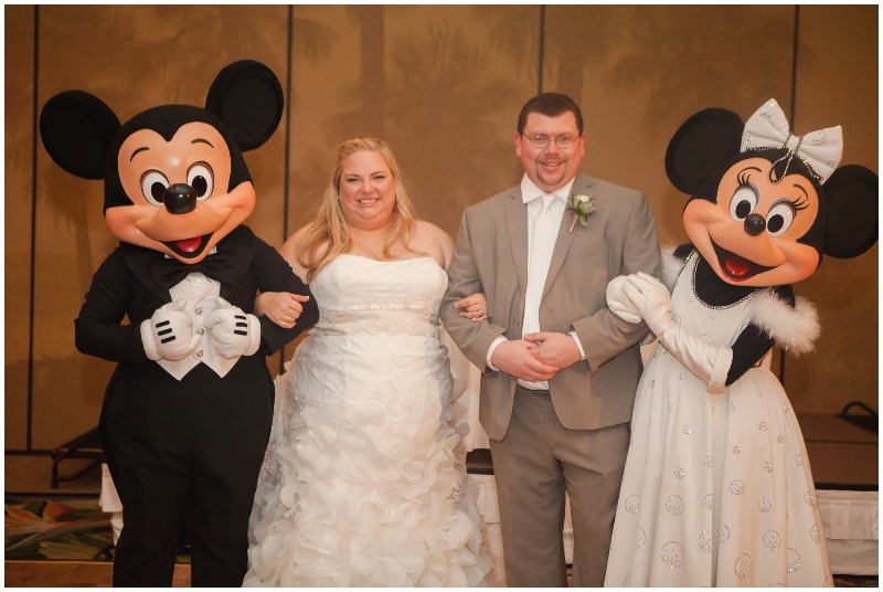 Disneyland Paradise Pier Hotel Wedding // Casey H Photos