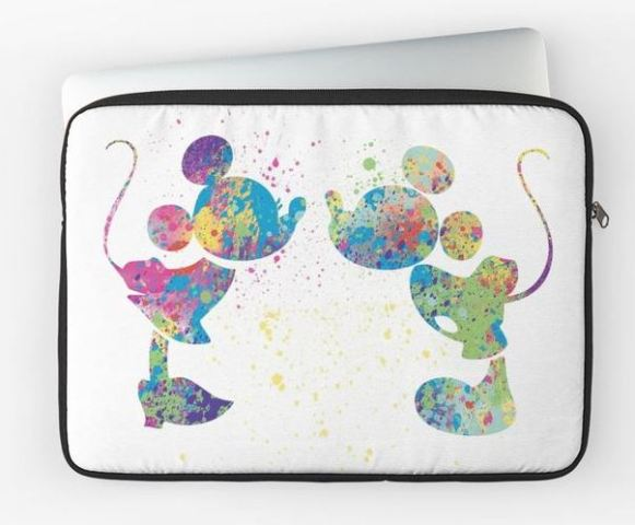 Mickey and Minnie Laptop Sleeve