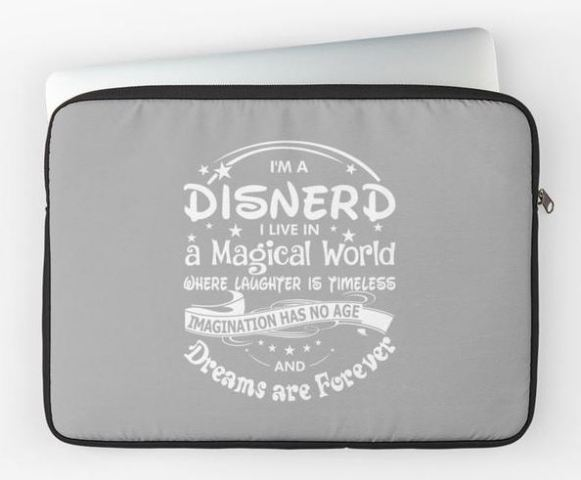 Disnerd Laptop Sleeve