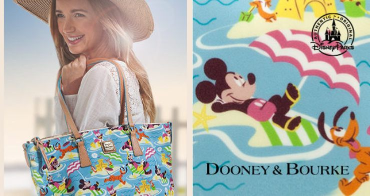 The New Beach Disney Dooney & Bourke is the Best Way to Say Goodbye to Summer