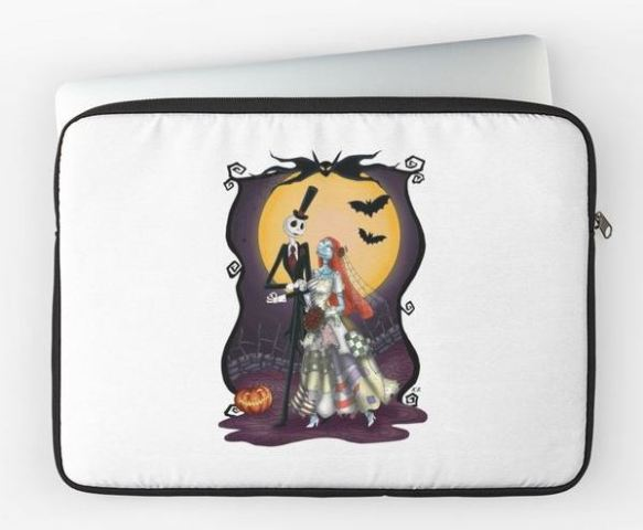 Nightmare Before Christmas Laptop Sleeve
