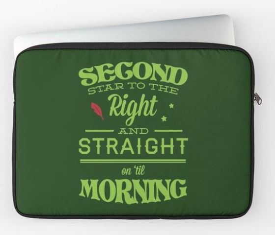 Peter Pan Laptop Sleeve