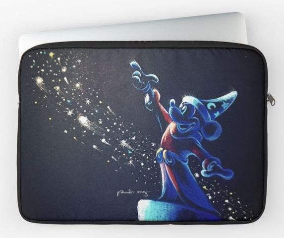 Sorcerer Apprentice Mickey Laptop Sleeve