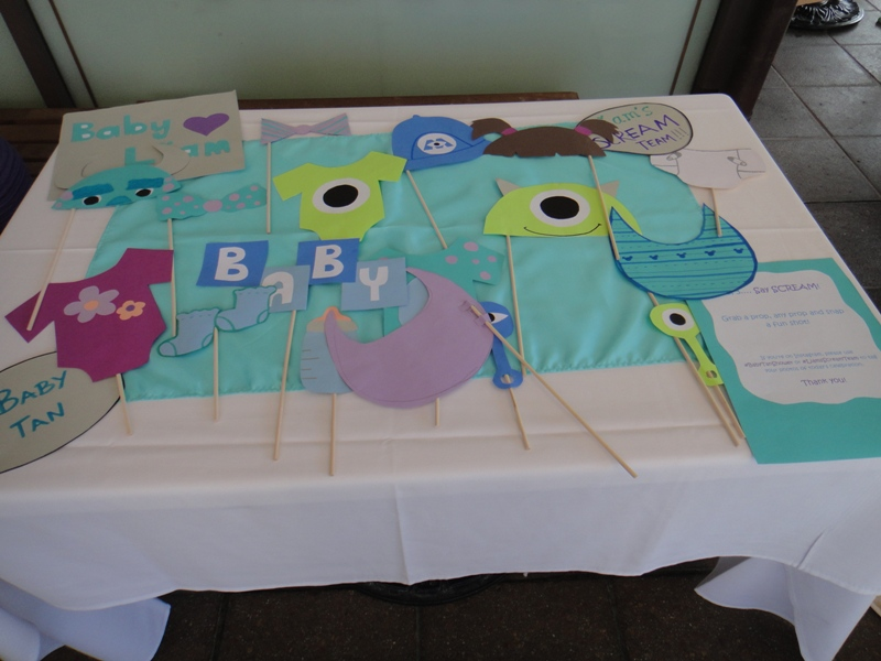 monster s inc baby shower at downtown disney
