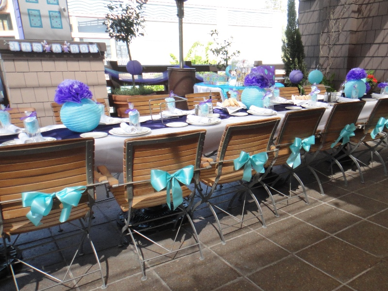 A Monsters Inc Baby Shower at Downtown Disney