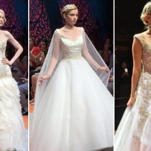 First Look at the 2016 Disney Wedding Gowns from Alfred Angelo