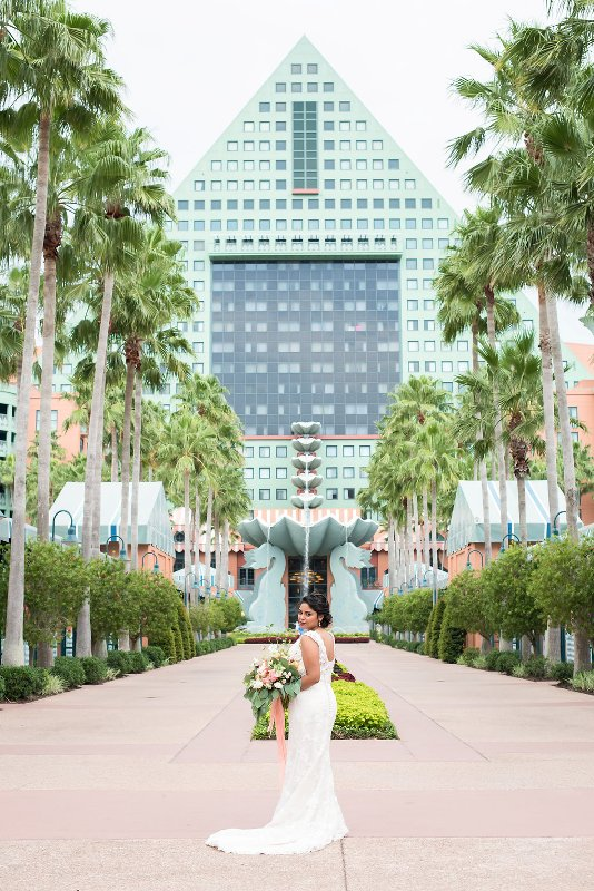 Gorgeous Disney Details In This Styled Shoot At Walt World Swan And Dolphin