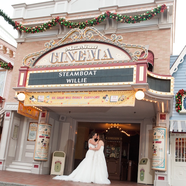 Brides, Books, and Bees: Renee and Diana's Disneyland Wedding // C & B Pictures