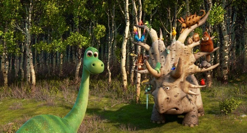 The Good Dinosaur Activity Sheets and Movie Clips