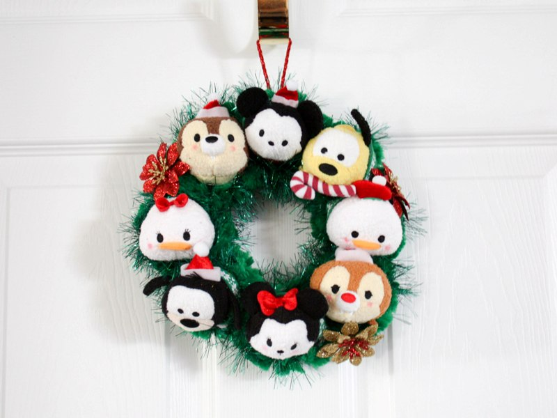 DIY Tsum Tsum Wreath - This Fairy Tale Life