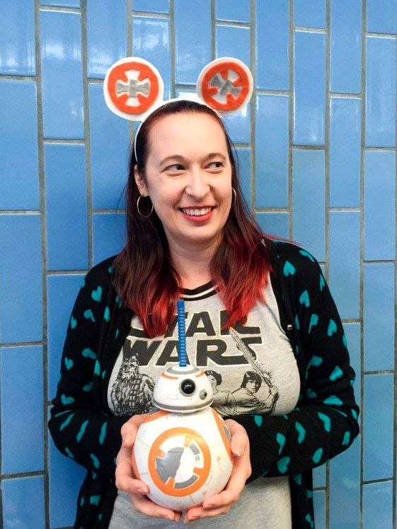 DIY STAR WARS BB-8 Mickey Ears