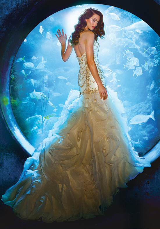 The 2016 Alfred Angelo Disney Fairy Tale Wedding Gowns - Ariel