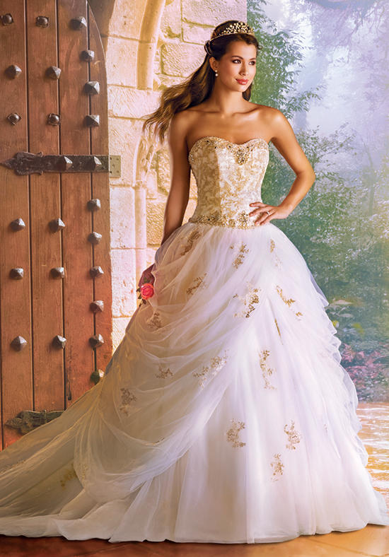 2016 alfred angelo disney fairy tale wedding gowns for Wedding dress disney collection