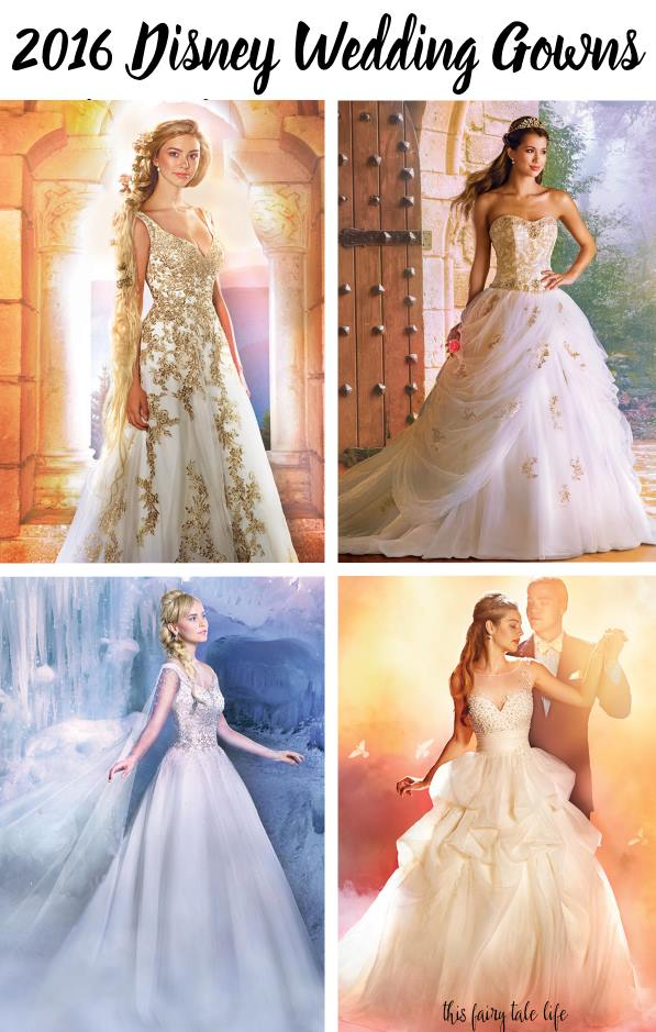 2016 alfred angelo disney fairy tale wedding gowns for Fairytale inspired wedding dresses