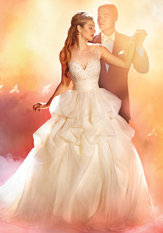 2016 alfred angelo disney fairy tale wedding gowns for Disney style wedding dresses