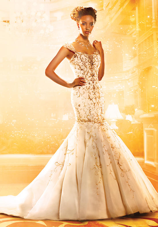 on the 2016 alfred angelo disney fairy tale bridal gown collection