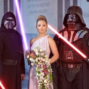 The Force is Strong with this Star Wars Fantasy Wedding Photo Shoot